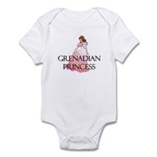 Grenadian Princess Infant Bodysuit