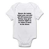 Burr quotation Infant Bodysuit