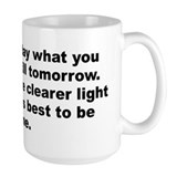 Burr quotation Mug
