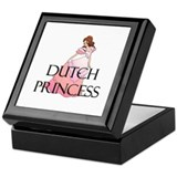 Dutch Princess Keepsake Box