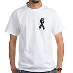 POW/MIA Masonic White T-Shirt