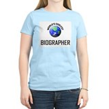 World's Coolest BIOGRAPHER T-Shirt