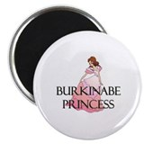 Burkinabe Princess Magnet