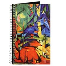 Deer by Franz Marc Journal