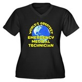 World's Greatest Emerg.. (D) Women's Plus Size V-N