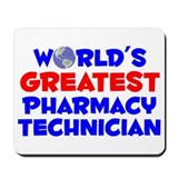World's Greatest Pharm.. (A) Mousepad