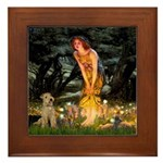 Midsummer's Eve Lakeland T. Framed Tile
