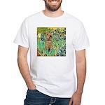 Lakeland T. & Irises White T-Shirt