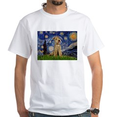 Starry Night Lakeland T. White T-Shirt