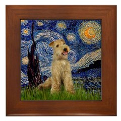 Starry Night Lakeland T. Framed Tile