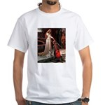 The Accolade & Lhasa Apso White T-Shirt