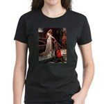The Accolade & Lhasa Apso Women's Dark T-Shirt