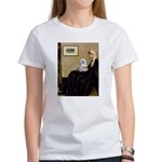 Whistler's Mother Maltese Women's T-Shirt