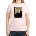 Whistler's Mother Maltese Women's Light T-Shirt