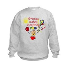 Gramps Fun Girl Sweatshirt