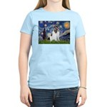 Starry Night / Landseer Women's Light T-Shirt