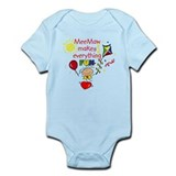 MeeMaw Fun Girl  Infant Bodysuit