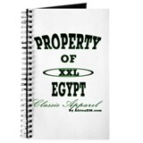 Property Of Egypt Classic Journal