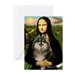 Mona and her Parti Pom Greeting Cards (Pk of 20)