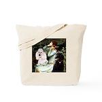 Ophelia / Poodle pair Tote Bag