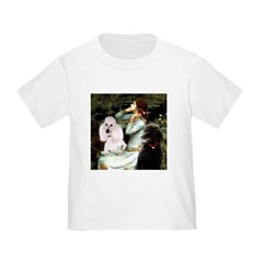 Ophelia / Poodle pair Toddler T-Shirt