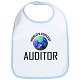 World's Coolest AUDITOR Bib