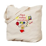 Papa Fun Girl Tote Bag