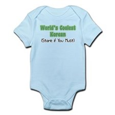 World's Coolest Korean Infant Bodysuit