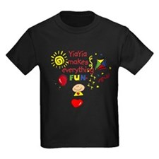 YiaYia Fun Girl T