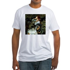 Ophelia/Rottweiler Fitted T-Shirt