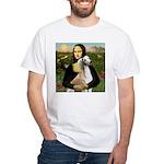 Mona Lisa (new) & Saluki White T-Shirt