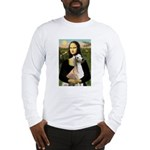 Mona Lisa (new) & Saluki Long Sleeve T-Shirt