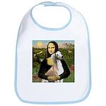 Mona Lisa (new) & Saluki Bib