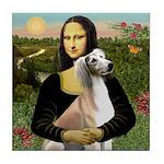 Mona Lisa (new) & Saluki Tile Coaster
