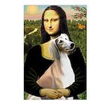 Mona Lisa (new) & Saluki Postcards (Package of 8)