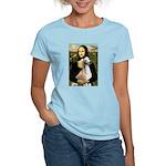Mona Lisa (new) & Saluki Women's Light T-Shirt