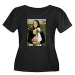 Mona Lisa (new) & Saluki Women's Plus Size Scoop N