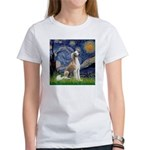 Starry Night / Saluki Women's T-Shirt