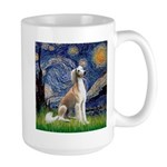 Starry Night / Saluki Large Mug