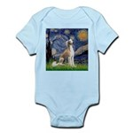 Starry Night / Saluki Infant Bodysuit