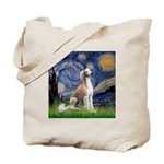 Starry Night / Saluki Tote Bag