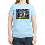 Starry Night / Saluki Women's Light T-Shirt