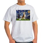 Starry Night / Saluki Light T-Shirt