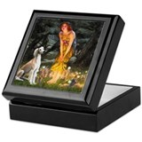 Midsummer's Eve & Saluki Keepsake Box