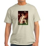Seated Angel / Saluki Light T-Shirt