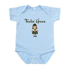 Feeling Green Infant Bodysuit