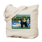 SCHNAUZER & SAILBOATS Tote Bag