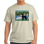 SCHNAUZER & SAILBOATS Light T-Shirt