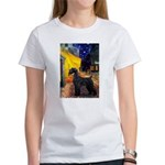Cafe & Giant Schnauzer Women's T-Shirt