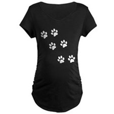 Walk-On-Me Pawprints T-Shirt